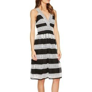 Kate Spade Color Block Lace V-Neck dress, Size 0